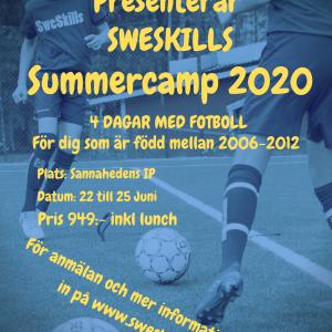 Summer Camp Kristinehamn  22-25 Juni
