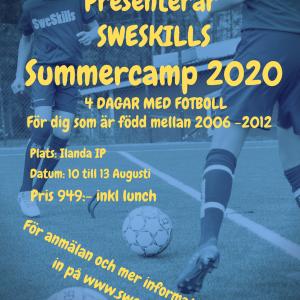 Summer Camp Karlstad 10-13 Augusti